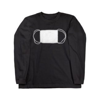 二重マスク Long sleeve T-shirts
