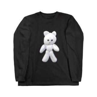 デジタルクマキチ Long sleeve T-shirts