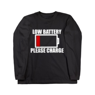 LOW_BATTERY Long sleeve T-shirts
