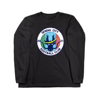 仙台シティFC オリジナルグッズ(エンブレム) Long sleeve T-shirts
