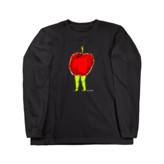 りんごのたたずまい。 Long sleeve T-shirts