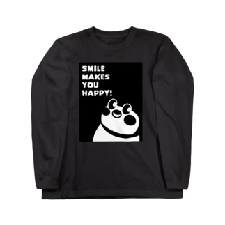 Smile makes you happy Long sleeve T-shirts
