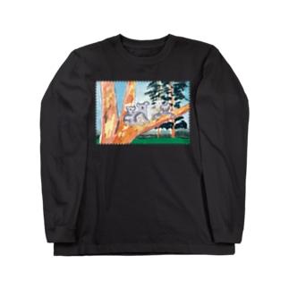 nelcoのオーストラリアの親子 Long sleeve T-shirts