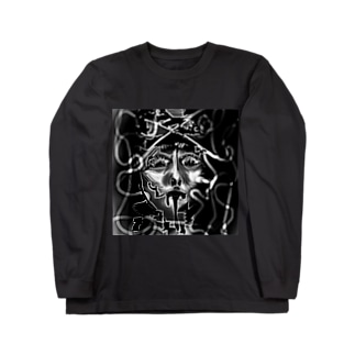 黒よだれ Long sleeve T-shirts