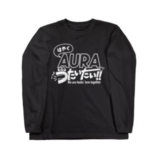 AURA Long sleeve T-shirts