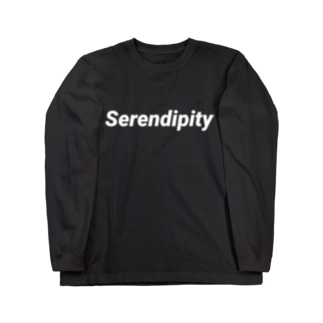 Serendipity Logo Longsleeve / Black Long sleeve T-shirts