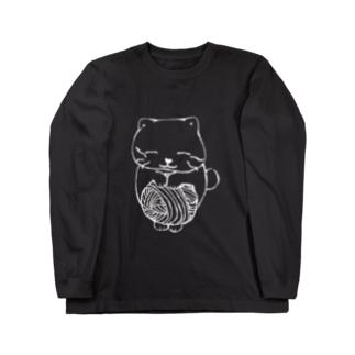 けねこ Long sleeve T-shirts