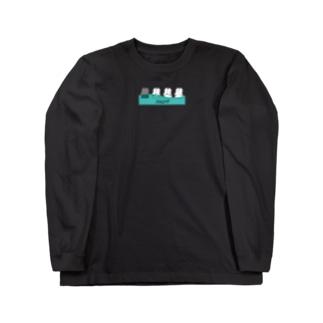 ナツムラのうみゅーのばなな Long sleeve T-shirts