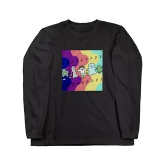 🎶みんななかよし🎶 Long sleeve T-shirts