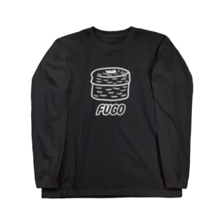 FUGO(白線) Long sleeve T-shirts