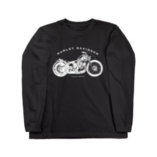 ハーレーナックルチョッパーTシャツ Long sleeve T-shirts
