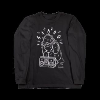 SAABOのlisten_to_SAABO_LI Long sleeve T-shirts