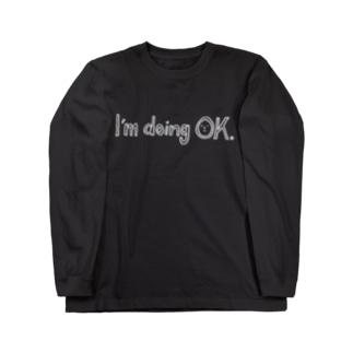 まあまあ元気Tシャツ(WH-line) Long sleeve T-shirts