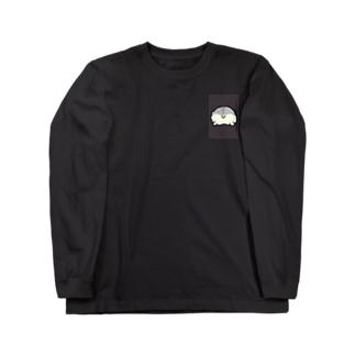 ハムスターのおしり( 'ω' ) Long sleeve T-shirts