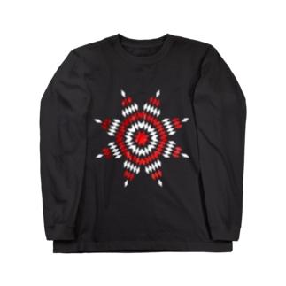 ウォーボンネット Long sleeve T-shirts