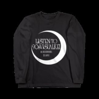 90年代V系インスパイアグッズの90年代V系インスパイアグッズ・・・月と海・・・† Long sleeve T-shirts