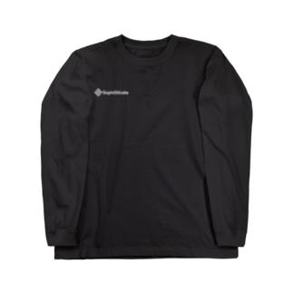 SophiSticate 長袖右胸ロゴTシャツ ブラック/ダークグレイ Long sleeve T-shirts