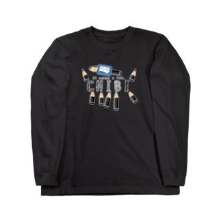 CT156 ちびた鉛筆*B Long sleeve T-shirts