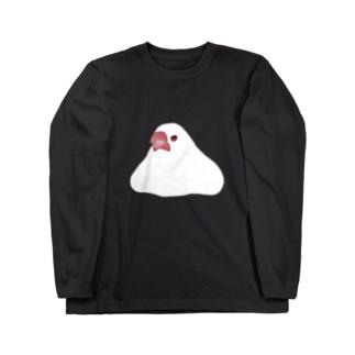 もち文鳥Tシャツ Long sleeve T-shirts