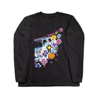 パンジー ドライブ!宇宙人 Long sleeve T-shirts