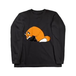 きつね Long sleeve T-shirts