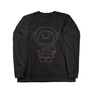 着せられてるベビー(宇宙服) Long sleeve T-shirts