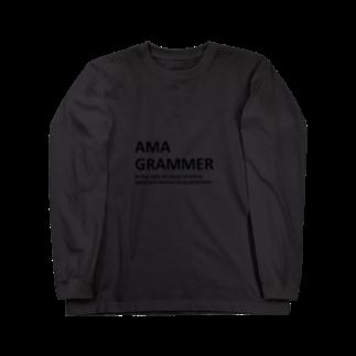 アシベズヘアのAMAGRAMMER Long sleeve T-shirts