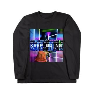 KEEP GOING Long sleeve T-shirts