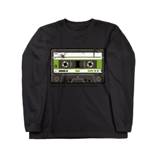 """""""Analog is Real"""" CASSETTE TAPE Long sleeve T-shirts"""