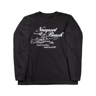 NEWPORT BEACH  DARK COLOR VERSION Long sleeve T-shirts