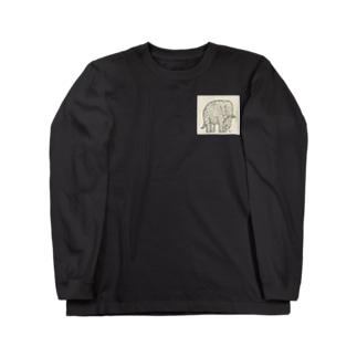 Elephant Long sleeve T-shirts