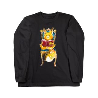 子狐の至福の時間 Long sleeve T-shirts