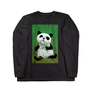 PANDA No.4 Long sleeve T-shirts