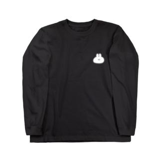 ナポリのSUZURIのUSACHAN Long sleeve T-shirts