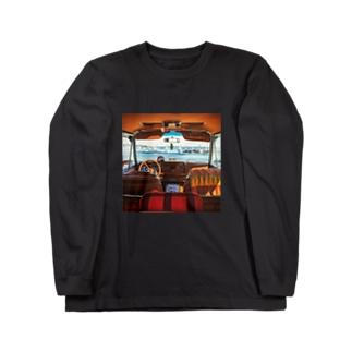 jeep ワゴニア Long sleeve T-shirts