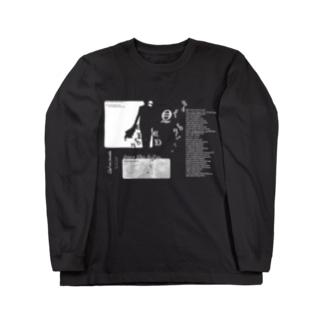 QED_BK&W Long sleeve T-shirts