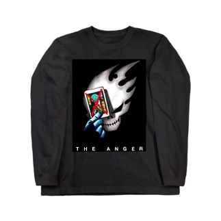 the anger DK Long sleeve T-shirts