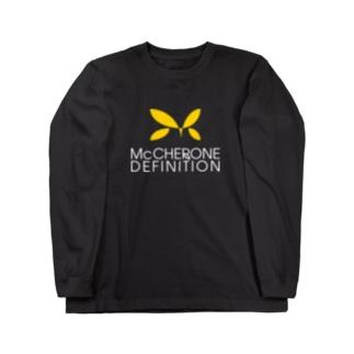 McCHERONE DEFINITION[濃色] Long sleeve T-shirts
