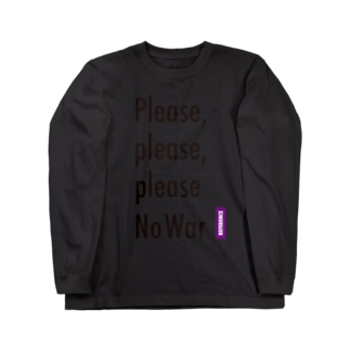 [REFERENCE] Please No War Long sleeve T-shirts