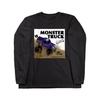 MonsterTruck Long sleeve T-shirts
