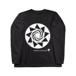 ミステリーサークル08(ホワイトver) Long sleeve T-shirts