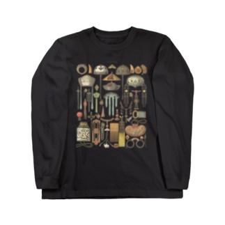 中国の装飾品<アンティーク・イラスト> Long Sleeve T-Shirt