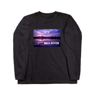 RICE RIVER×LAO つくばの光 Long sleeve T-shirts