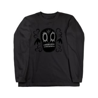 香るドクロちゃん Long sleeve T-shirts