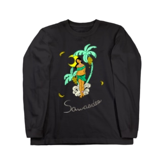 タイの妖怪「ナーンターニー」 BLACK Long Sleeve T-Shirt