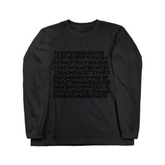型式地獄 pt2 Long sleeve T-shirts