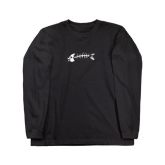 MAZE-FISH Long sleeve T-shirts