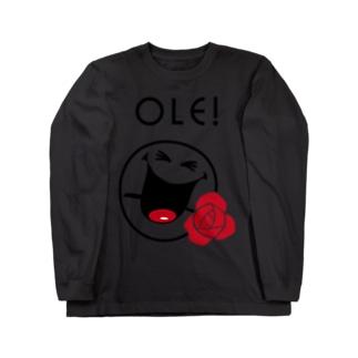 Ole SMILEY [俺、スマイリー] Long sleeve T-shirts