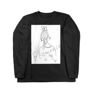 perflaのフラメンコ Long sleeve T-shirts