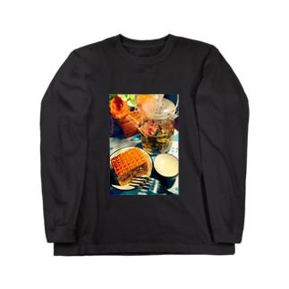アジアン ティータイム Long sleeve T-shirts